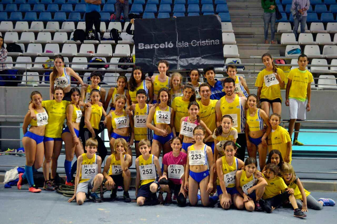 El Atletismo Isleño Vuelve a Brillar en el 2º Control Aire Libre Delegación Huelva