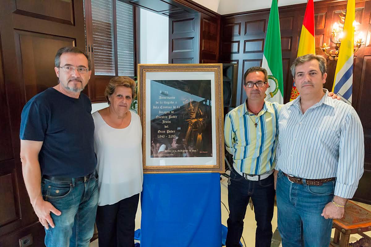 Isla Cristina celebra el 75 Aniversario de la llegada de la imagen del Gran Poder a la ciudad