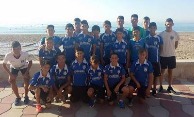 El Infantil del Isla Cristina a un paso de la final del II Torneo Costa de Almería