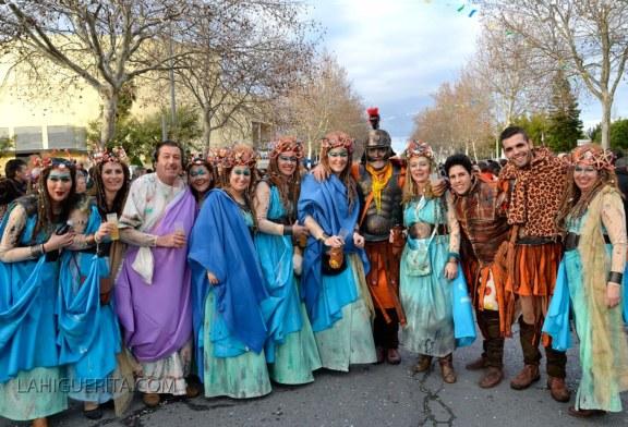 Cabalgata del Carnaval de Isla Cristina 2015