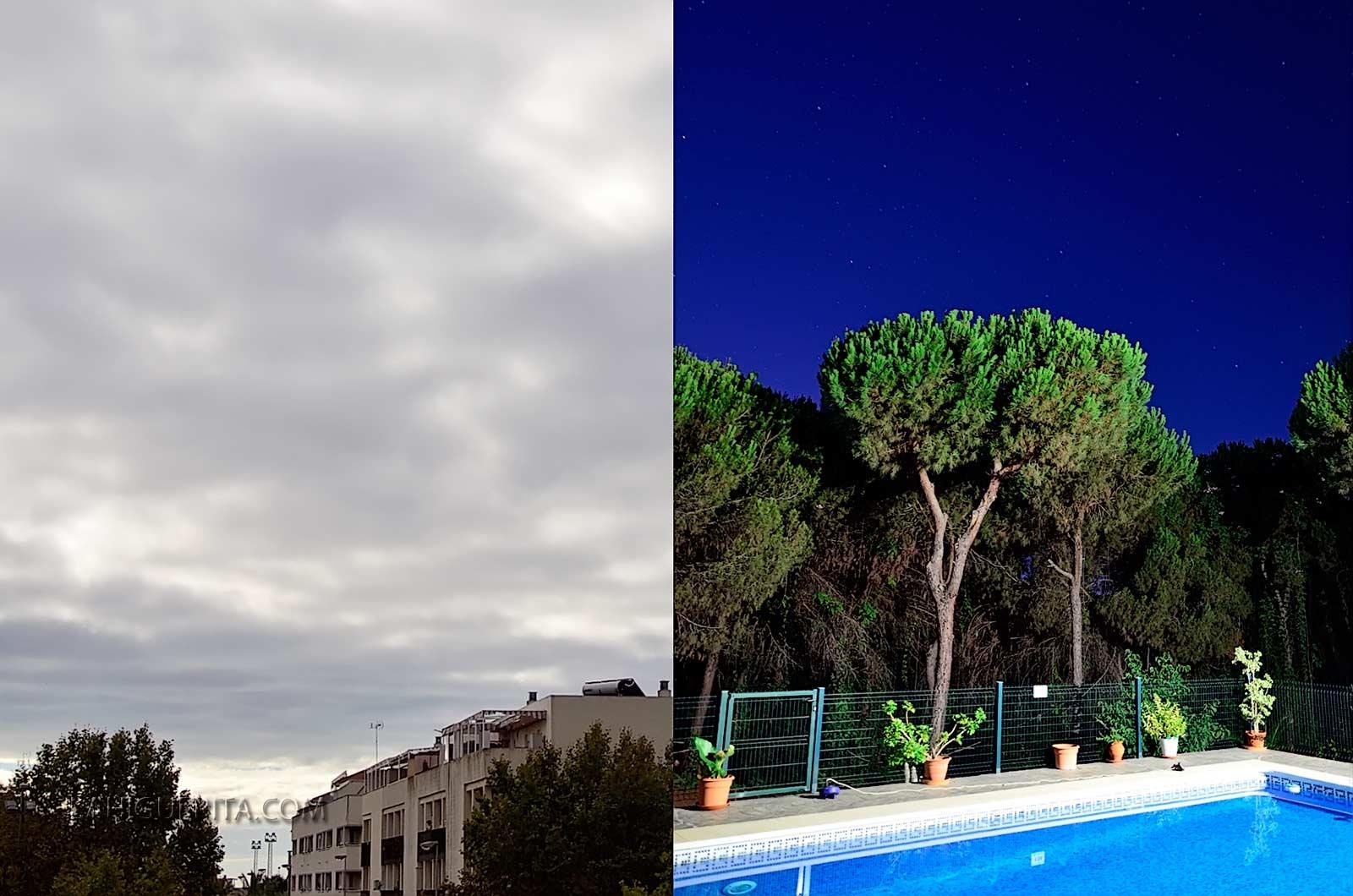 Time lapse Día y Noche