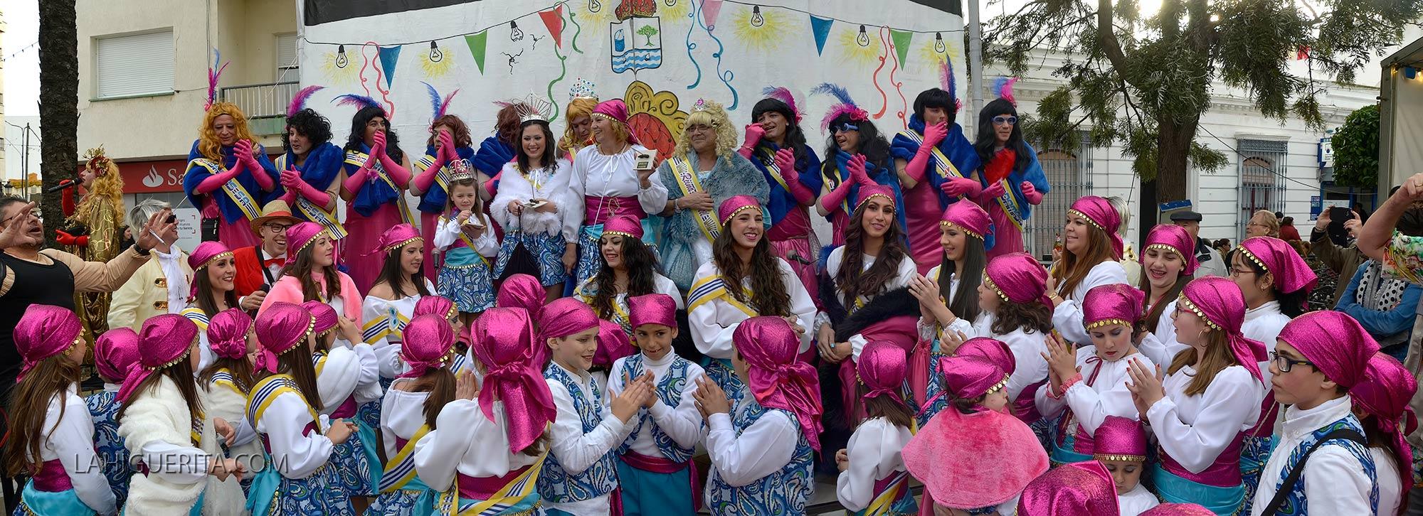 Disfraces callejeros del Carnaval de Isla Cristina 2015