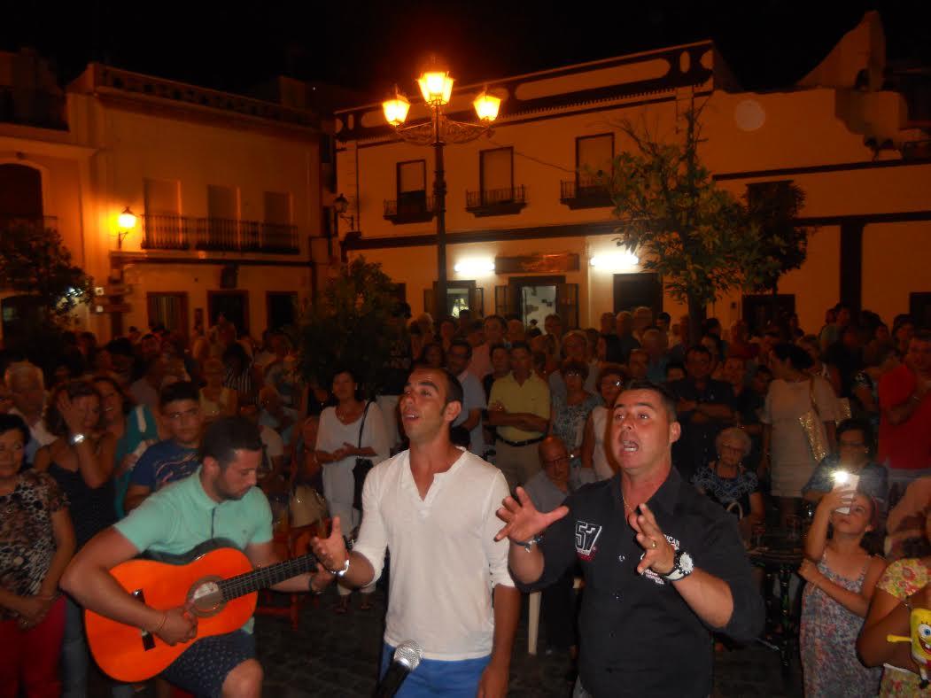 Kalandraque Canta la Salve a la Hermandad del Rocío de Isla Cristina