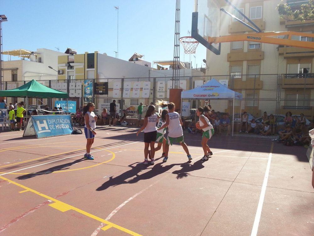 Hoy sábado el CP Ángel Pérez de Isla Cristina acoge la séptima prueba del Provincial 3x3 de baloncesto