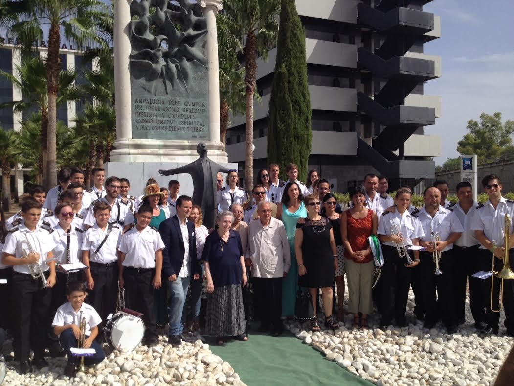 Isla Cristina, presente en el Homenaje a Blas Infante