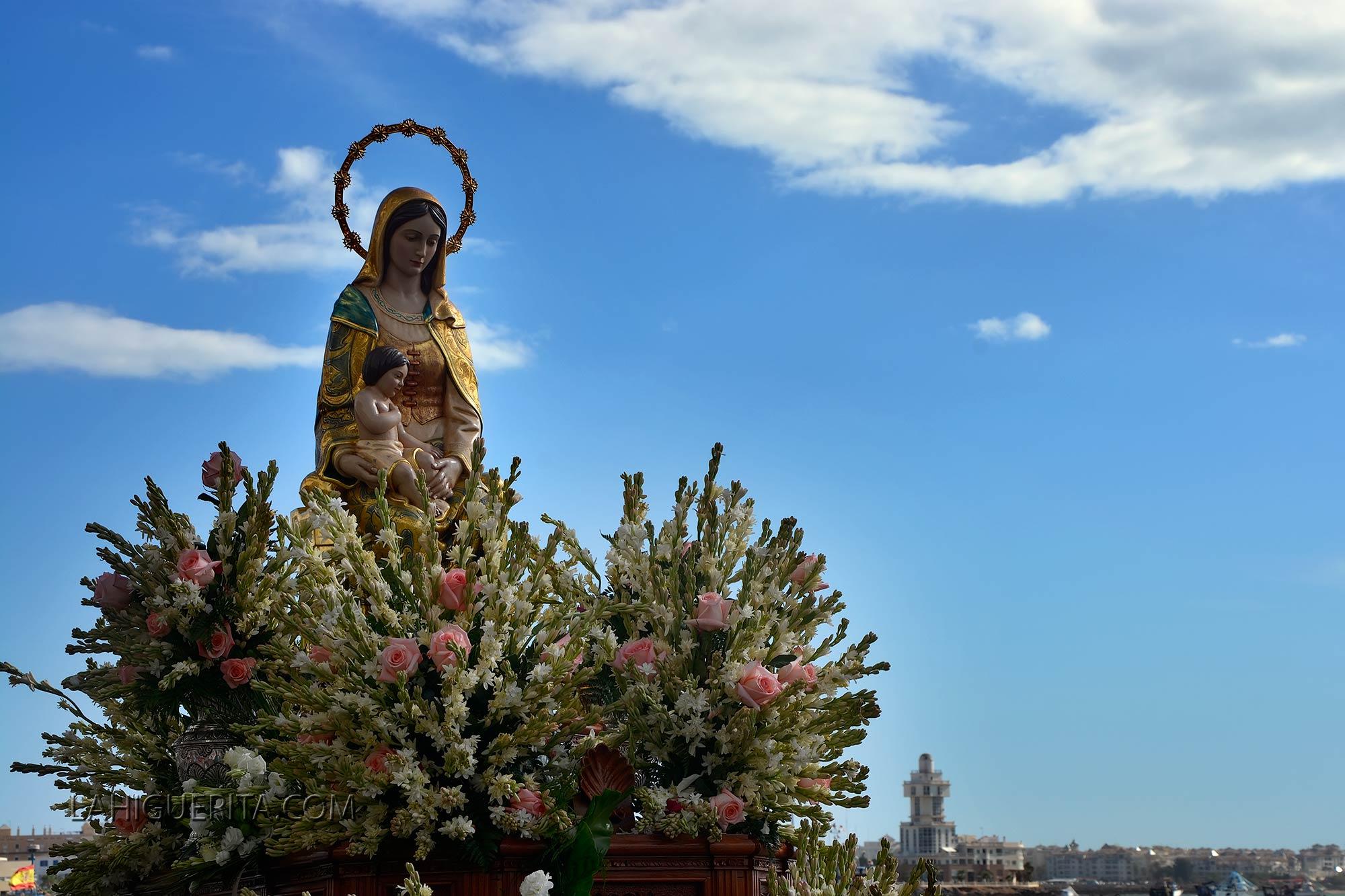 Procesión Virgen del Mar 2015 1ª parte