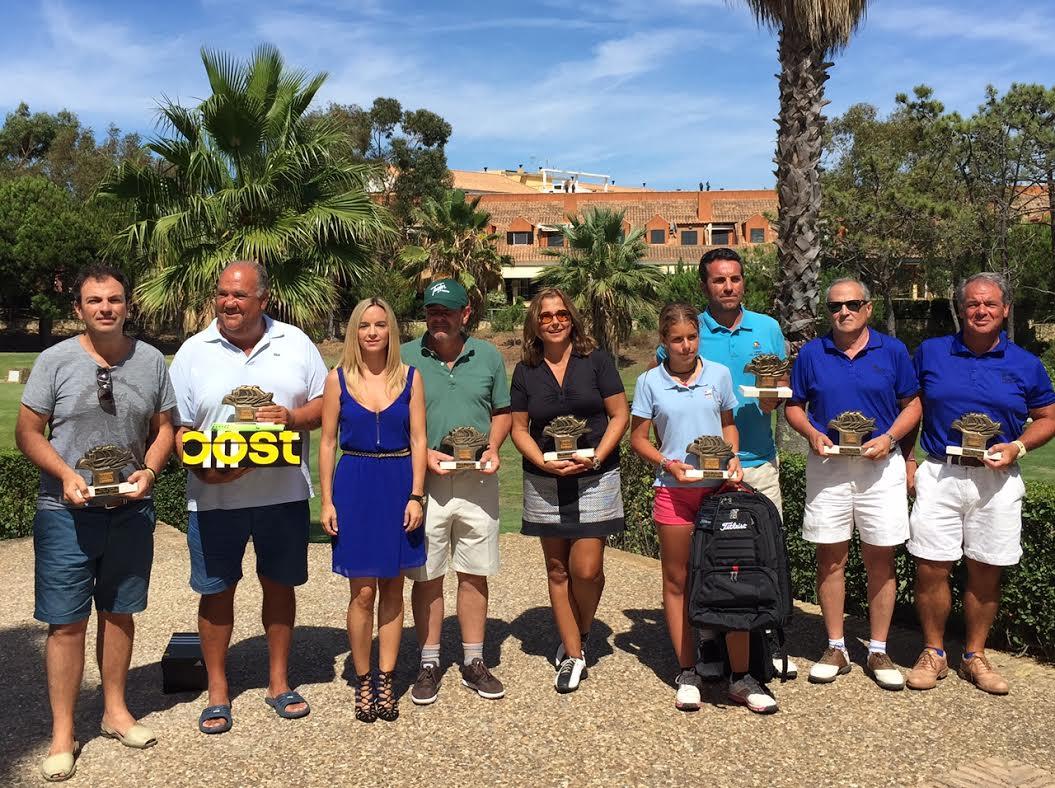 Torneo Pro-Shop celebrado este fin de semana en Islantilla bajo la modalidad de parejas
