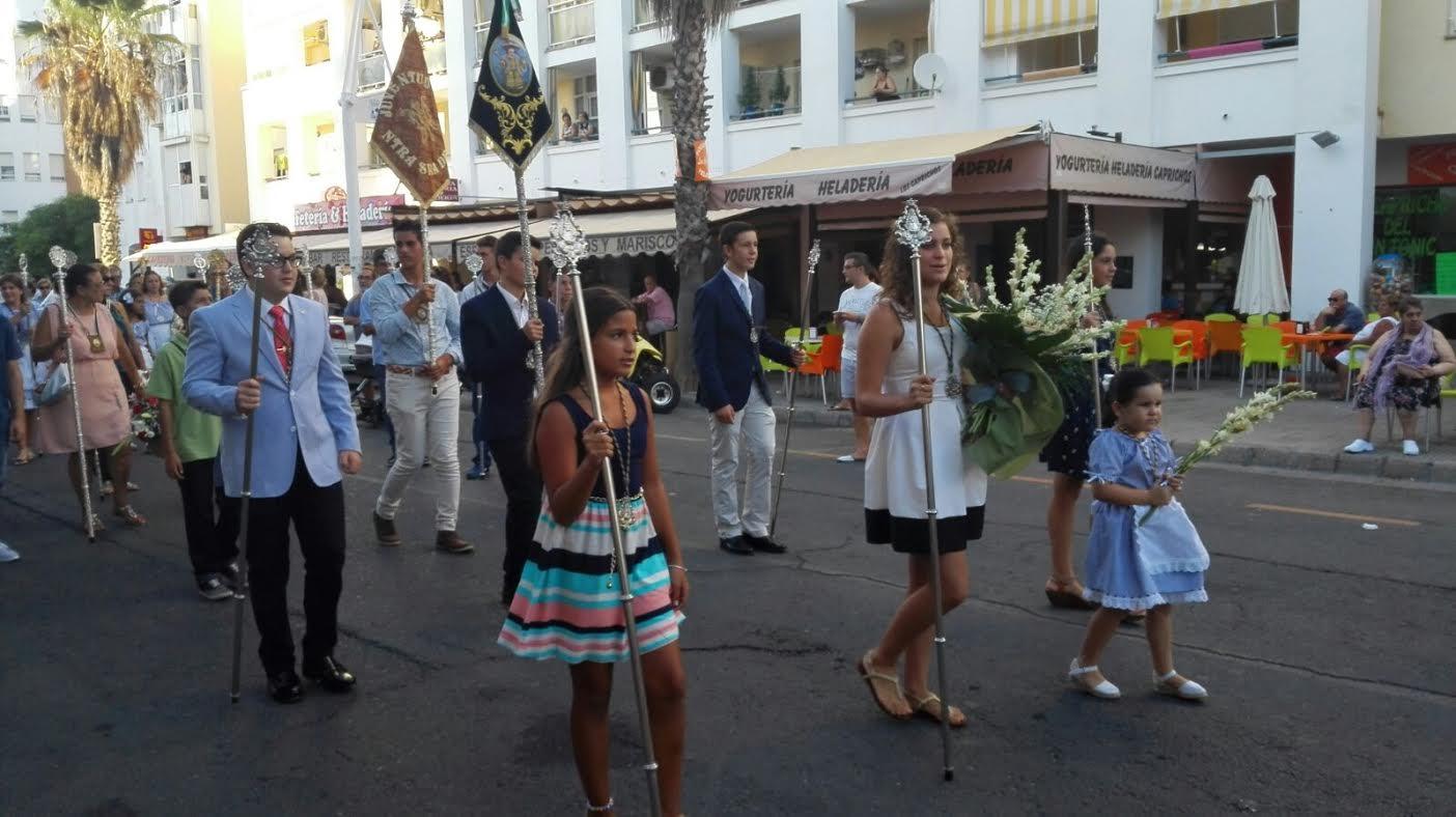 La Hermandad del Rocío de Isla Cristina en las Fiestas de la Virgen del Mar