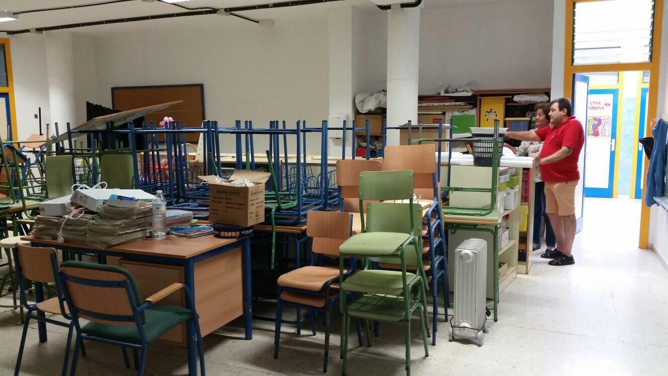 Los centros educativos de Isla Cristina a punto para iniciar el nuevo curso escolar