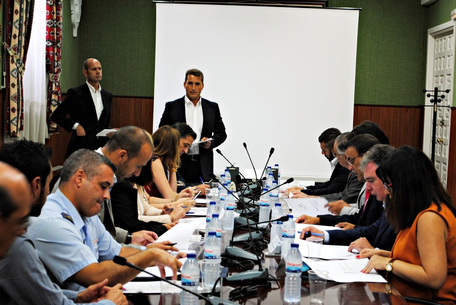 Constituido el Comité Organizador de los VI Juegos Europeos de Policías y Bomberos Huelva 2016