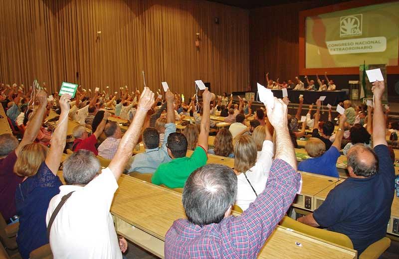 El Partido Andalucista pone fin a cuatro décadas de historia