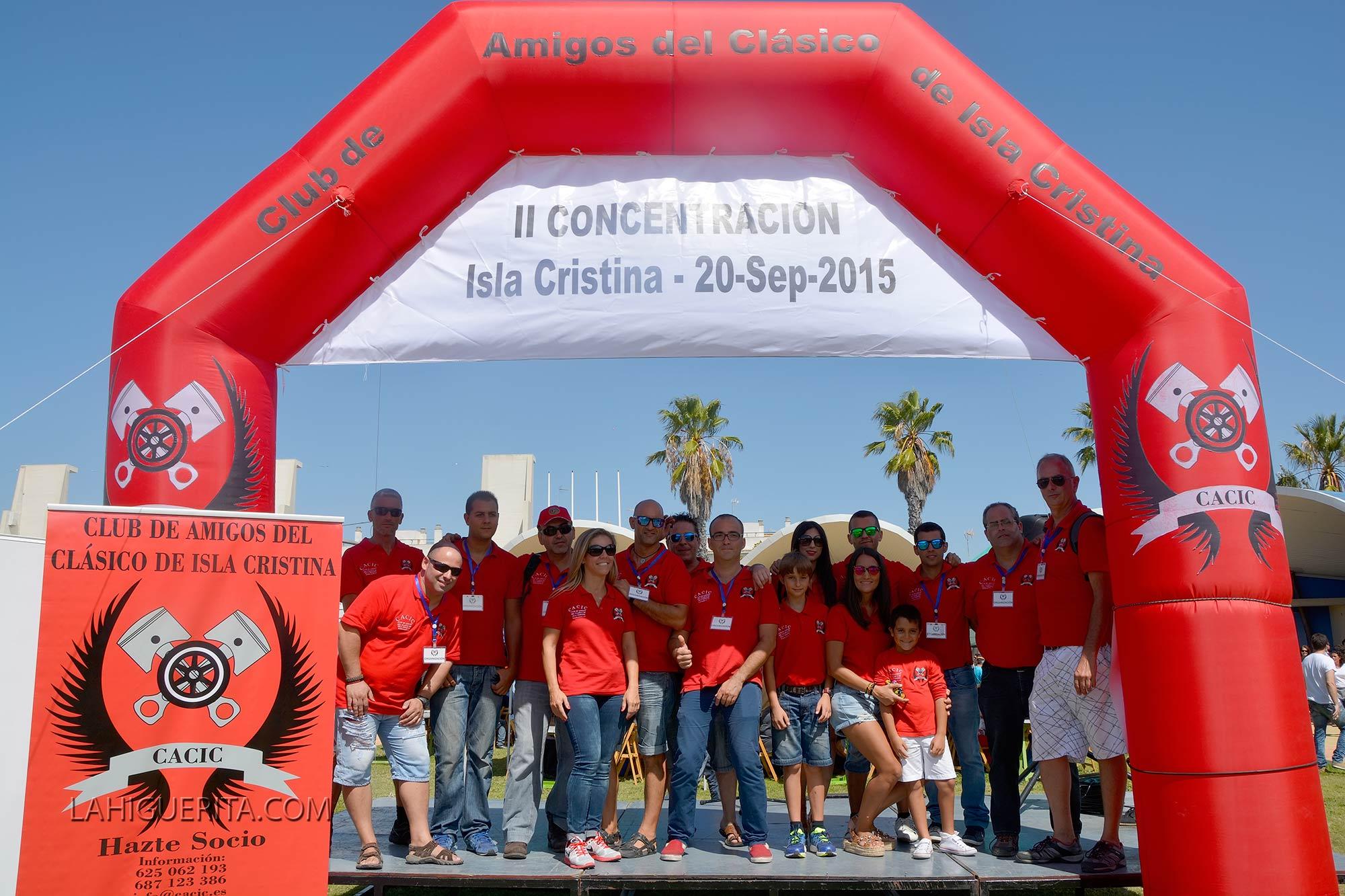 II Concentración de Vehículos Clásicos 'Ciudad de Isla Cristina'