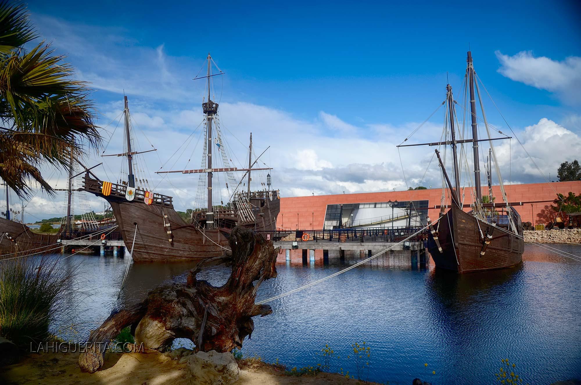 La nao Victoria construida en Isla Cristina podrá visitarse en el Puerto de Huelva
