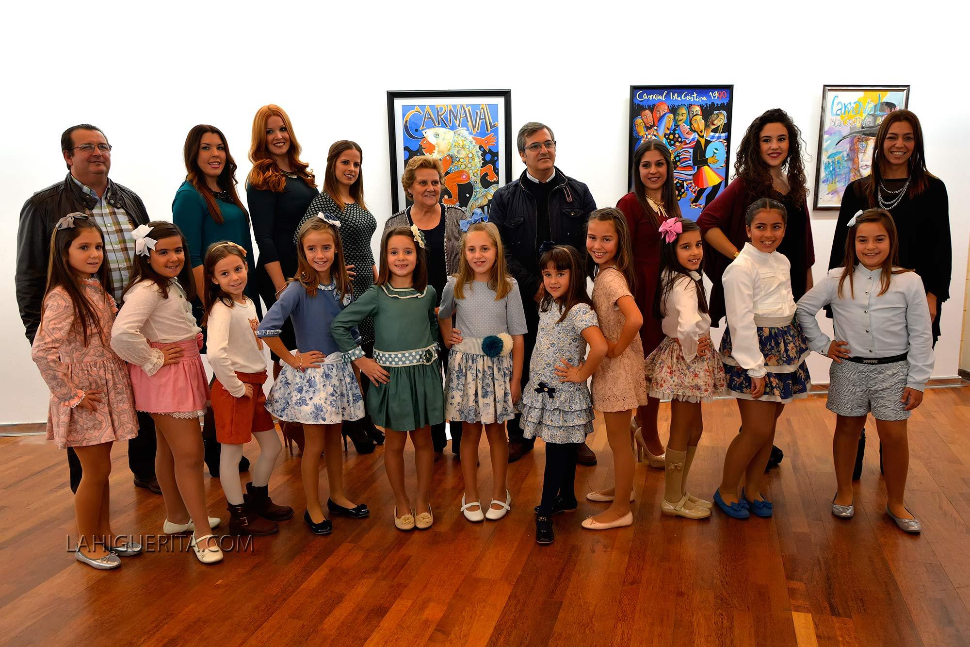 Presentación Corte juvenil e infantil carnaval Isla Cristina 2016