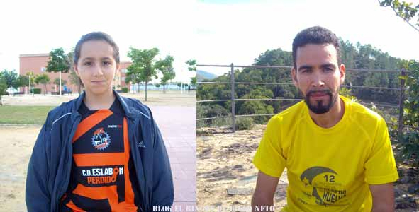 Ali El Fghir y Marta Lozano ganan la II Carrera Solidaria Familiar de Corrales