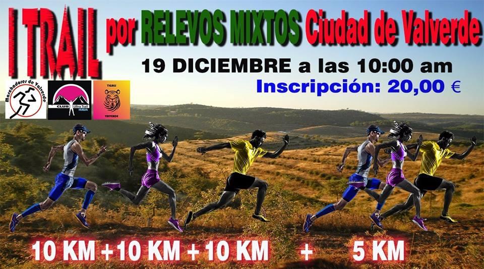 I Trail por Relevos Mixtos Ciudad de Valverde