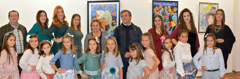 Corte de Honor del Carnaval de Isla Cristina 2016
