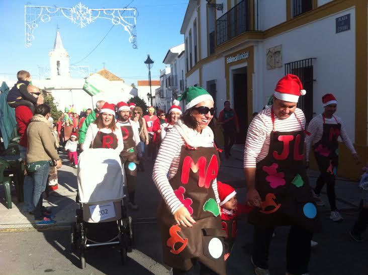 Raúl Feria y Bárbara Koziol Ganan la III San Silvestre Bartolina