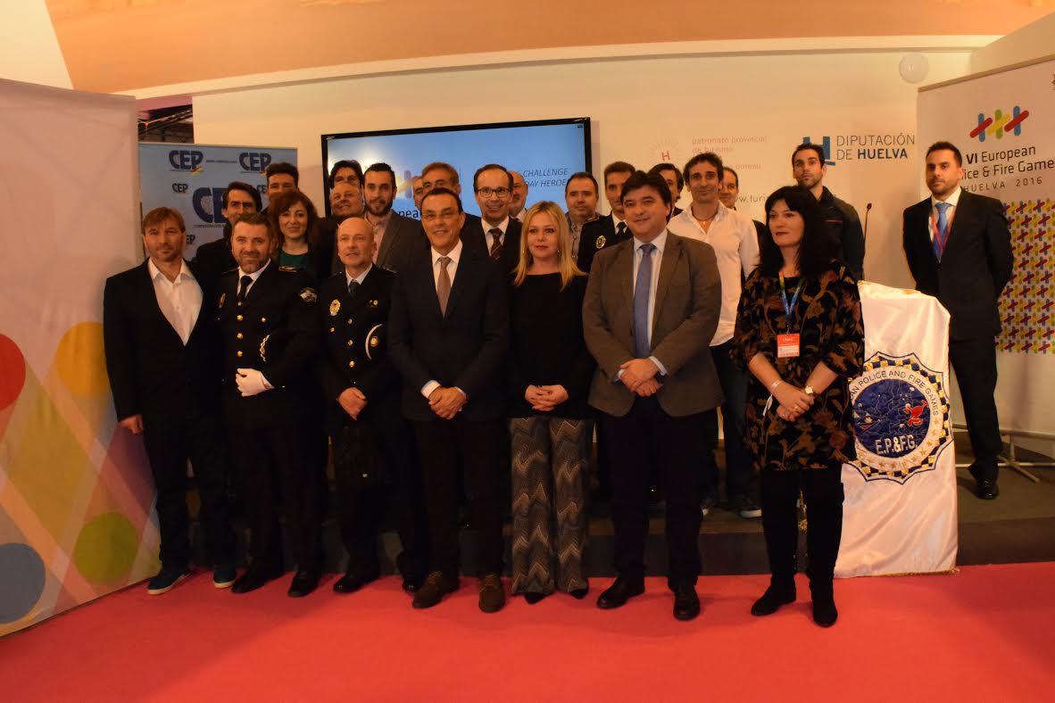 Éxito en la presentación Huelva 2016 en FITUR, los juegos europeos de los héroes cotidianos