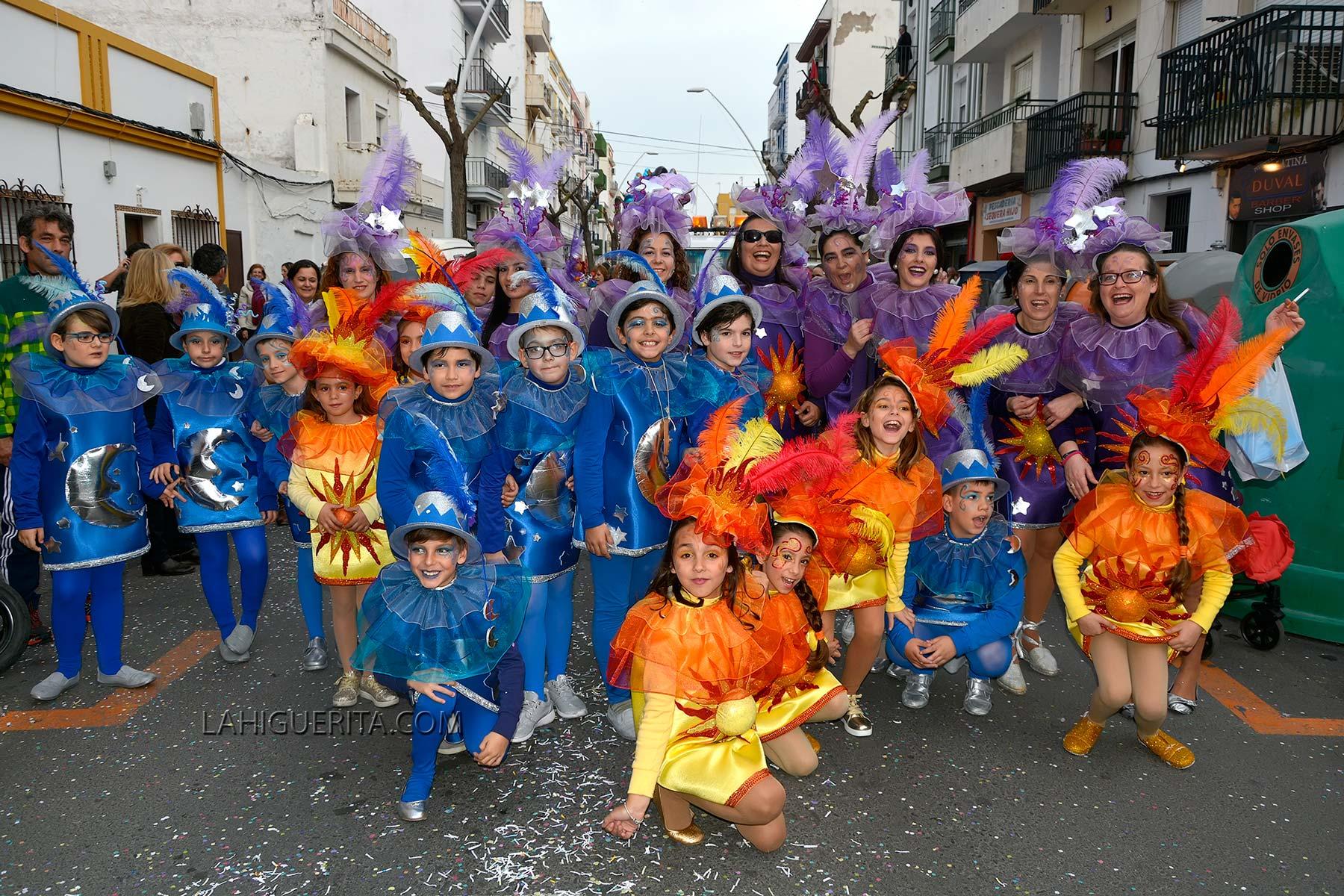 Cabalgata Infantil del Carnaval de Isla Cristina 2016