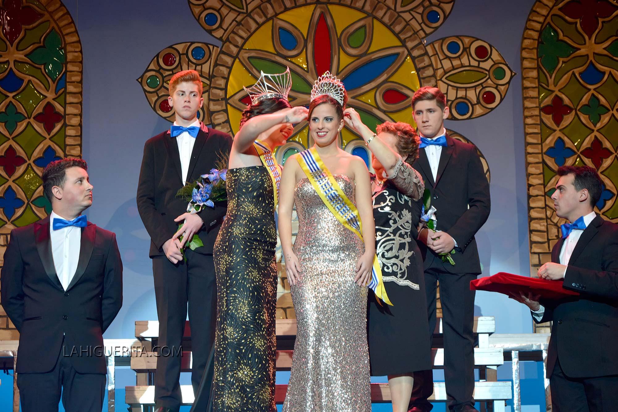 Coronación de la Reina Juvenil de los Carnavales de Isla Cristina 2016