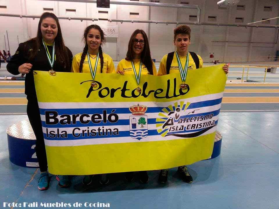 Lluvia de Medallas para el Atletismo Isleño en el Campeonato de Andalucía