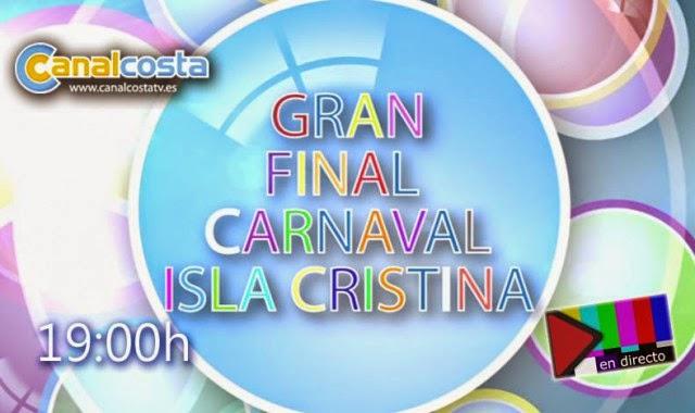 Canalcosta emitirá la final del concurso de agrupaciones del Carnaval de Isla Cristina