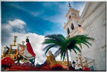 Procesión de la Hermandad de La Mulita de Isla Cristina 2017