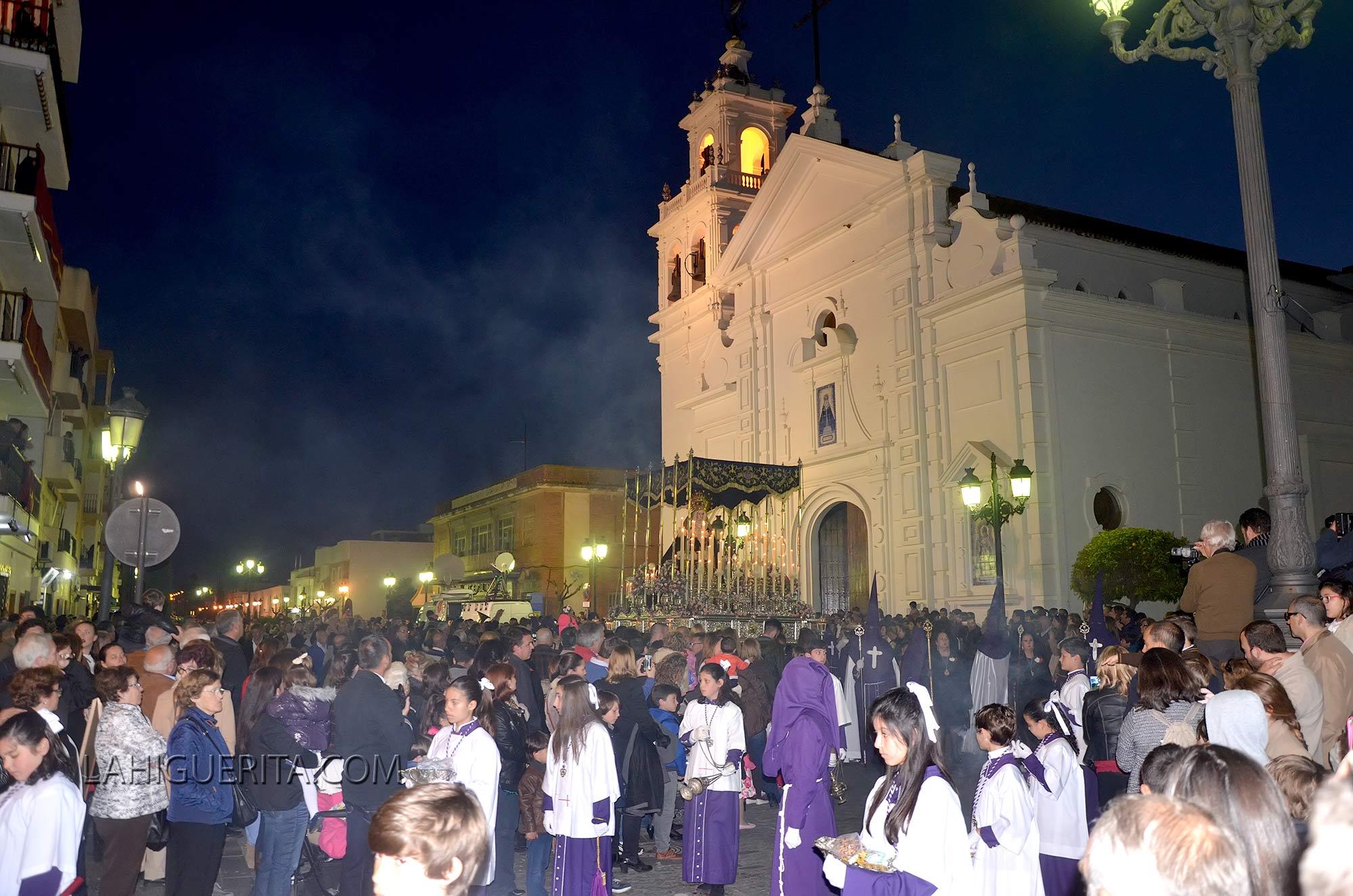 Procesión de la Hermandad de los 33 de Isla Cristina 2016