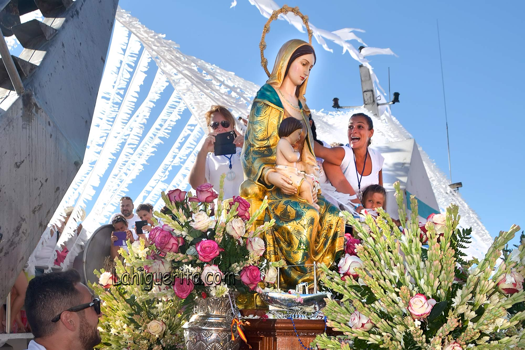 Virgen del Mar de Punta del Caimán 2016