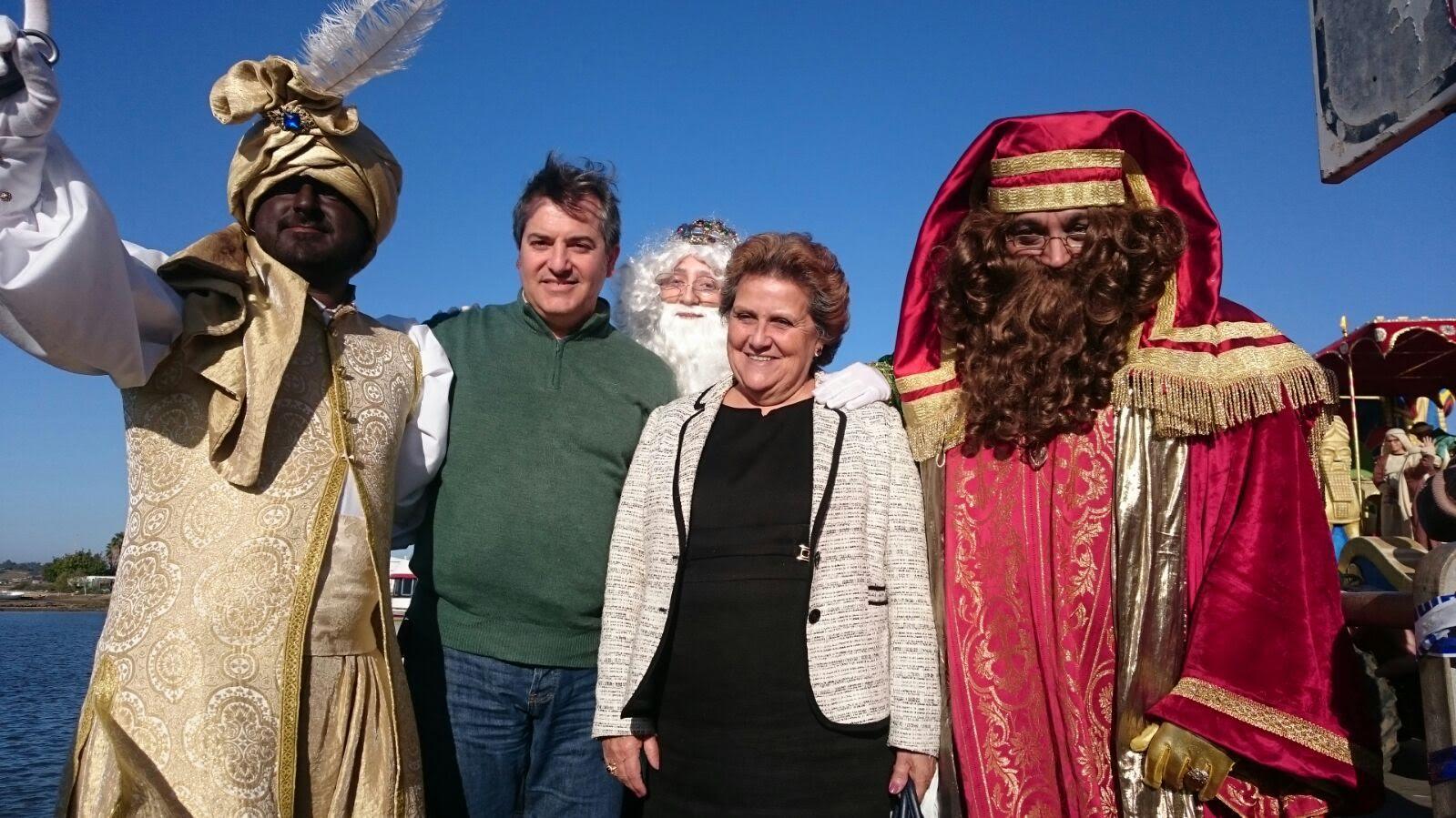 La Cabalgata de Reyes pone punto y final a la Navidad en Isla Cristina