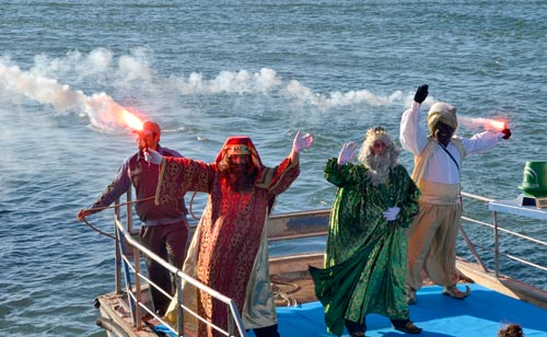 Itinerario de la gran Cabalgata de Reyes Magos de Isla Cristina