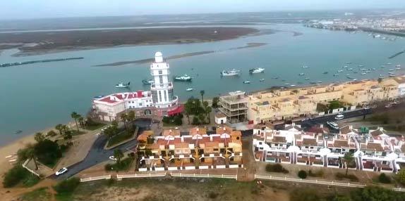 Isla Cristina desde el aire por José Antonio Portero