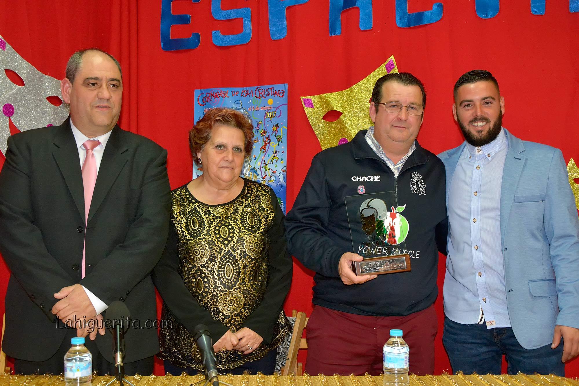 Premios otorgados en el Carnaval de Isla Cristina 2017