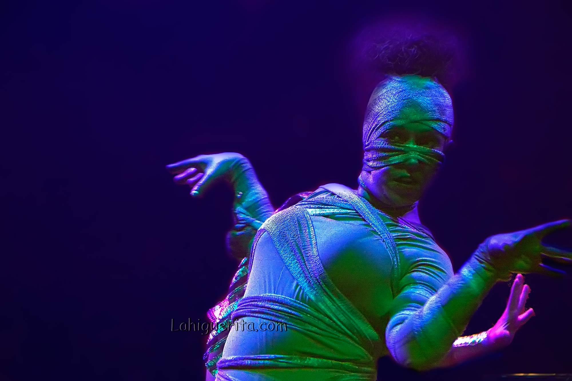 Show dedicado al Antiguo Egipto en el Carnaval de Isla Cristina 2017