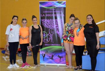 """Club de Gimnasia Rítmica """"la Higuerita"""" en la  III  Fase clasificatoria Provincia juego y liga en la Palma del Condado ."""