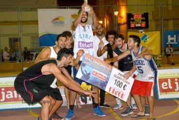 """Entrega de trofeos en el XXXIV Torneo Internacional de Baloncesto Ciudad de Isla Cristina """"Memorial D. Manuel López Soler"""""""
