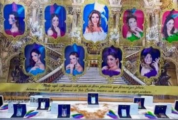 Presentación del escaparate de la Corte del Carnaval de Isla Cristina 2018