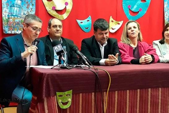 Antonio Cardenas, nuevo Pregonero del Carnaval de Isla Cristina 2018