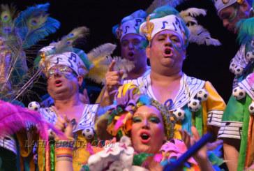 "Coro ""La Canarinha"" en el Carnaval de Isla Cristina 2018"