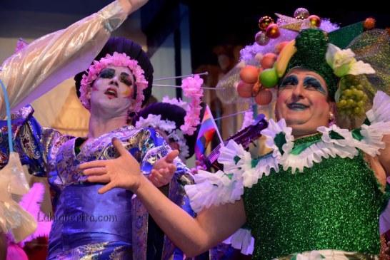 """Murga """"Star Juan el retorno del orgullo Gay"""" en el Carnaval de Isla Cristina 2018"""
