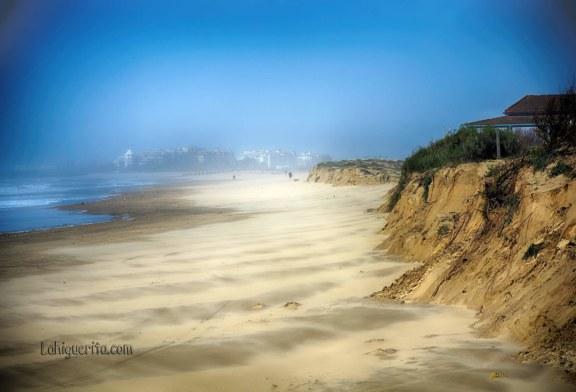 Temporal en las Playas de Isla Cristina tras el paso de la borrasca Emma