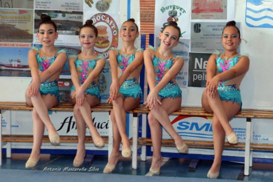 Varias de nuestras gimnastas (Club de Gimnasia Ritmica La Higuerita) se desplazaran el próximo Viernes 23 de Marzo a San Juan del Puerto