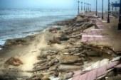 Destrozo causado por el Vendaval desde la costa de Isla Cristina hasta la Antilla