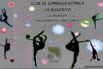 """El Viernes 25 de Mayo 2018, el club de gimnasia ritmica """"La Higuerita"""" colaborara en la Gala Benefica """"LUNES SANTO"""""""