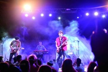 Algunos de los grupos que actuaron en el concierto del viernes en el IslaGo Isla Cristina 2018