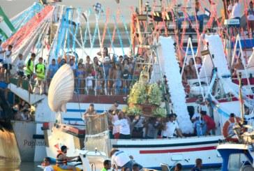 Desembarco de la Virgen del Mar de Punta del Caimán 2018