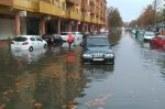 Las fuertes lluvias han ocasionado en Isla Cristina graves daños en los cultivos así como inundaciones de viviendas y sótanos de garajes