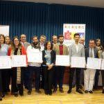 La  Cátedra de innovación social y operativa de aguas de Huelva entrega ocho premios a jóvenes universitarios