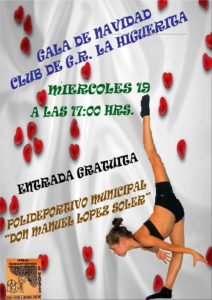 Gala Navideña del Club de Gimnasia Rítmica la Higuerita